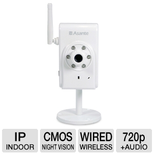 Web enabled security cam