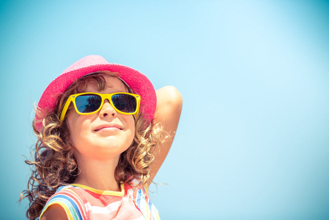 little girl summer
