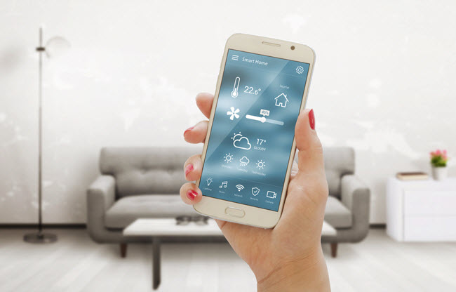 home automated system from cellphone
